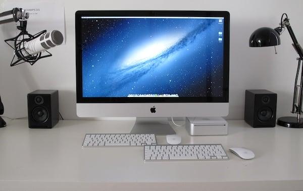 Sharing an iMac screen with a Mac mini
