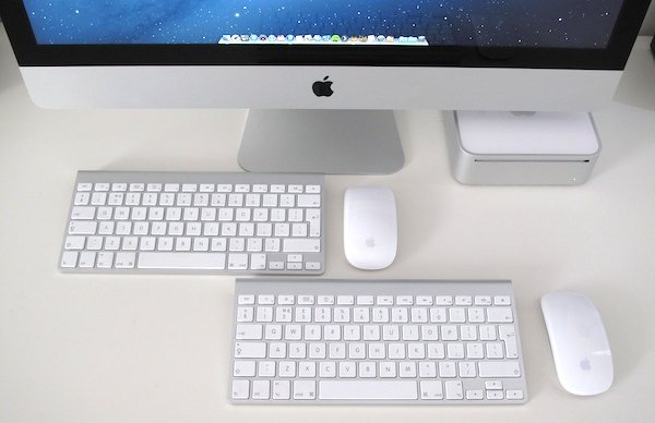 Keyboards and mice