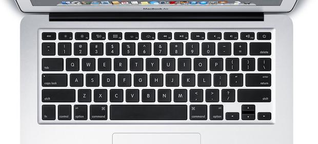 MacBook Air US Keyboard Layout