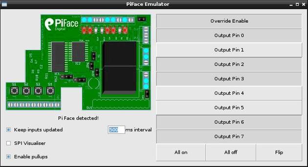 PiFace emulator
