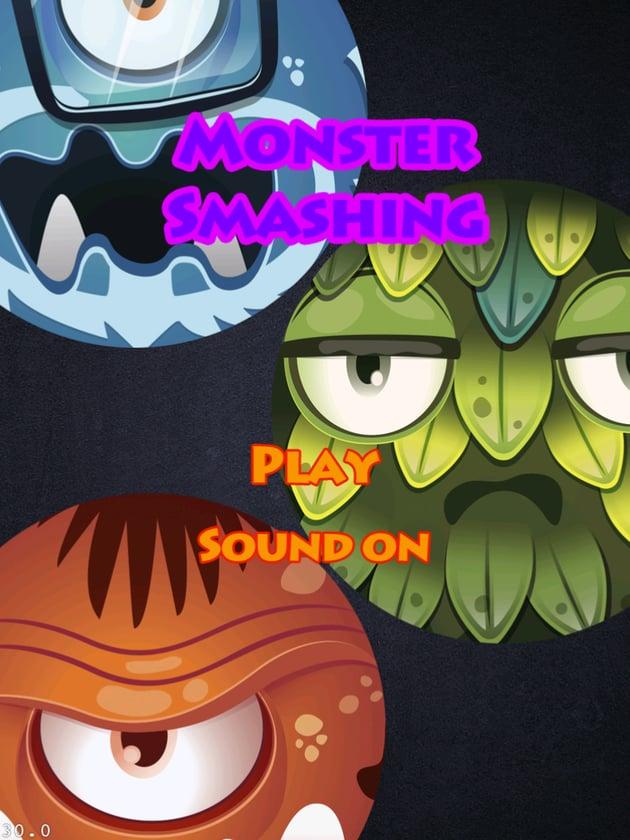 Figure 4: Monster Smashing Logo and Background