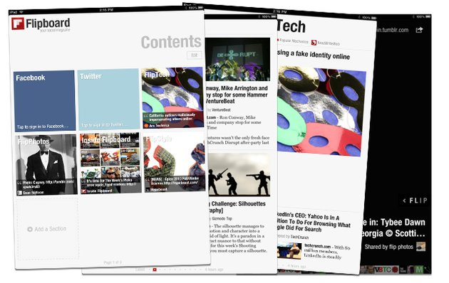 Flipboard Screenshots