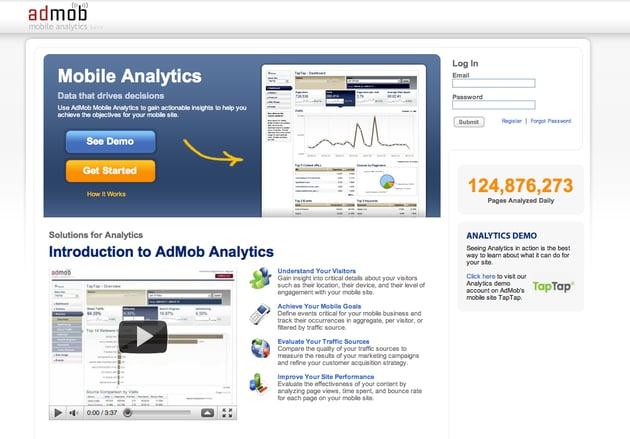 AdMob Analytics