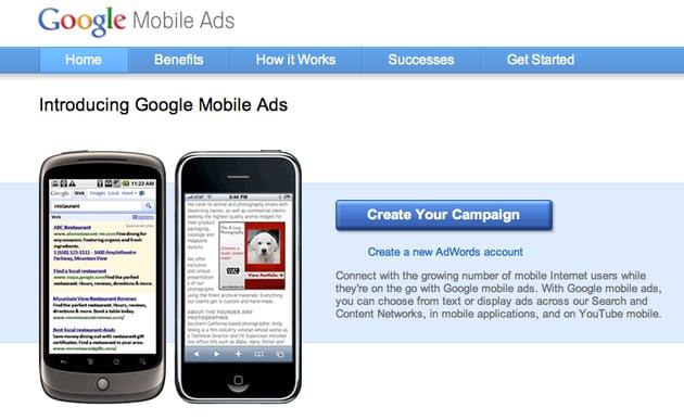 Google MobileAds