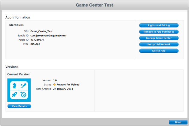 Game Center Overview