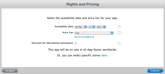 Rights and Pricing