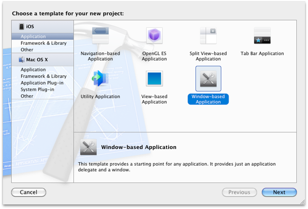 Pick Window-based project