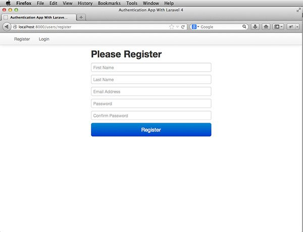 laravel-auth-register-page