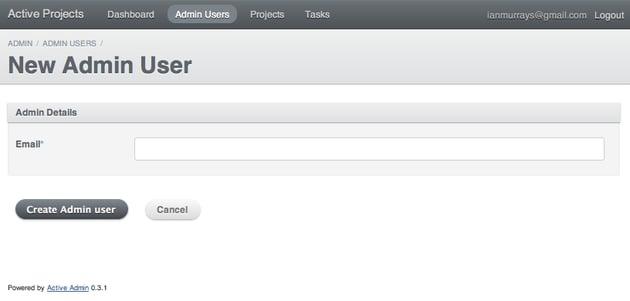 Admin User