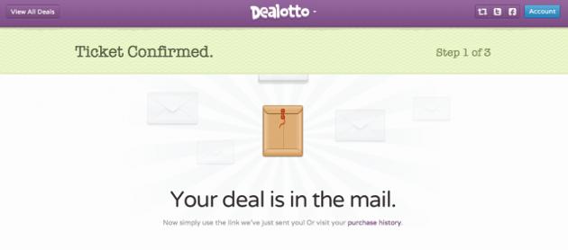 dealotto confirmation