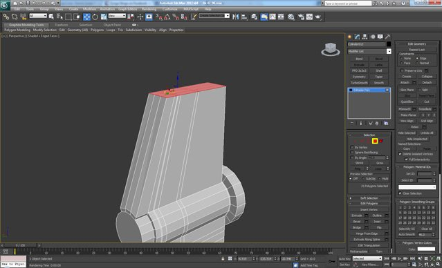 3D Studio Max Tutorial - High Poly Weapon Creation