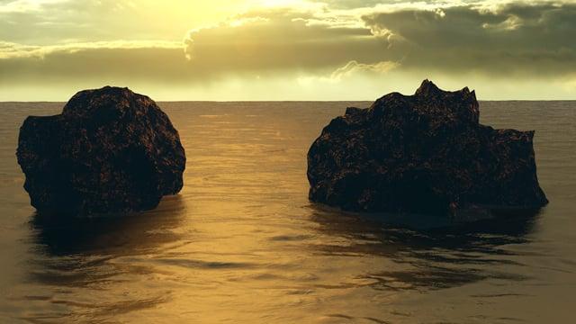 Cgtuts+ Ocean Evening Scene Artist Render Critique