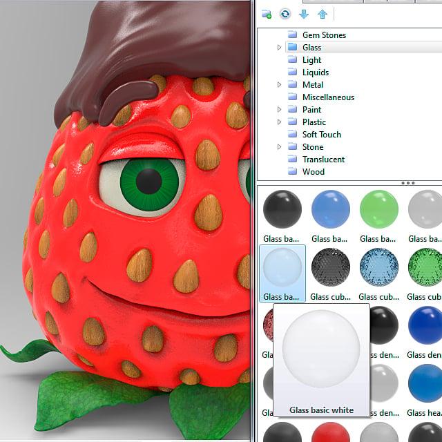 chocolate_dipped_strawberry_keyshot_rendering_step_9b