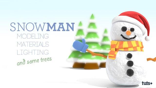 C4D_Snowman_Preview