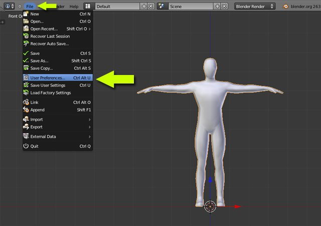 Blender Tutorial Create a walk cycle with Rigify - animation skinning weight painting
