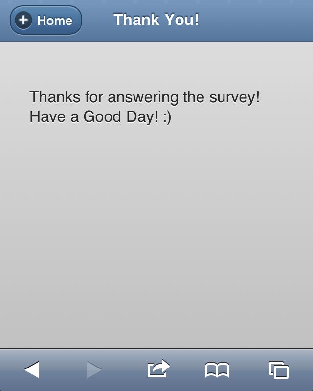 Ruby Survey App
