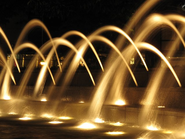 photograph movement in water