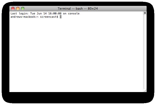 Mac Default Terminal