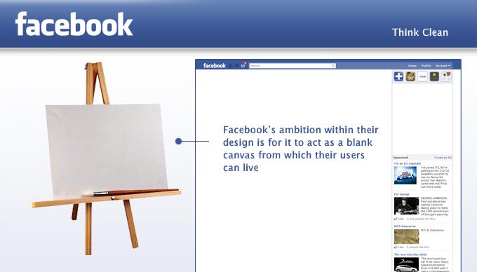 Facebook App Think Clean