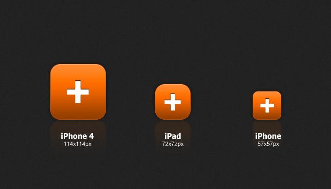 iphone ipad icon sizes