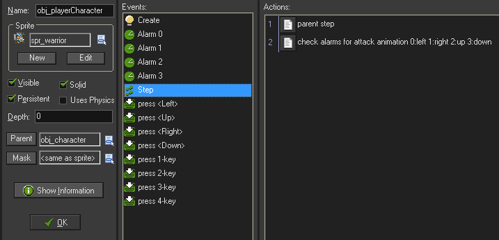 Modifiying game object events