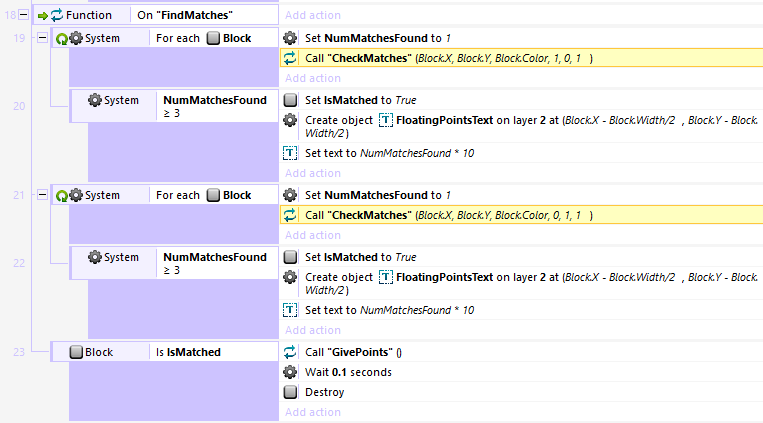 Make a Match-3 Puzzle Game in Construct 2: More Swapping, More Points, and More Matching