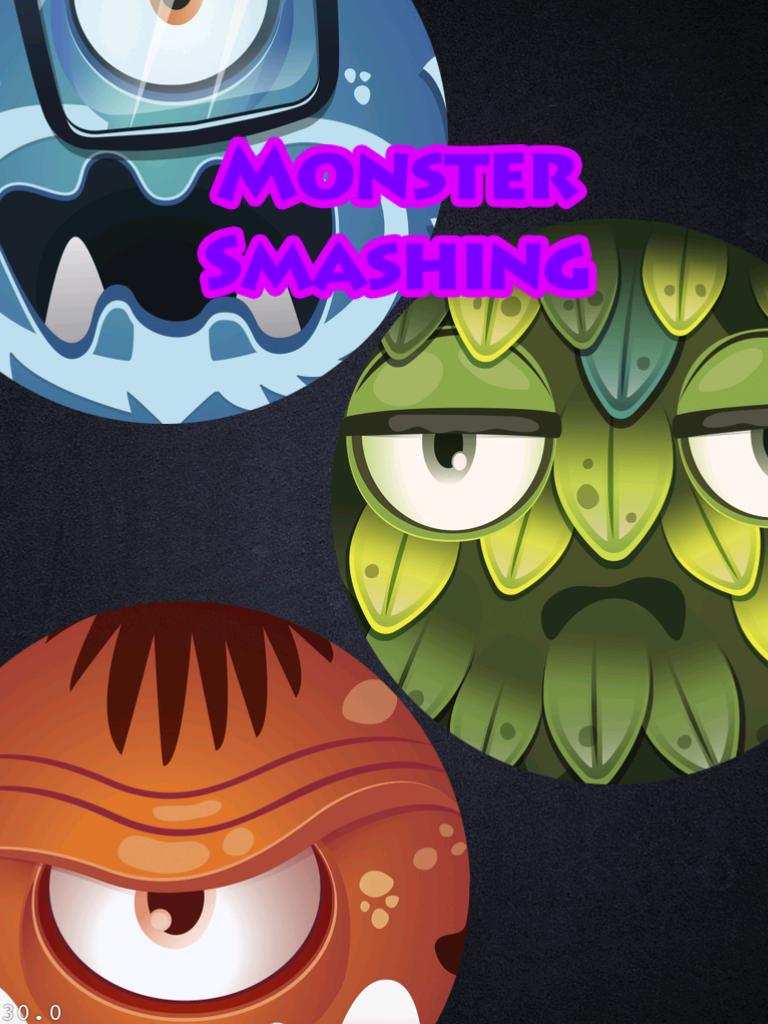Figure 3: Monster Smashing Logo and Background