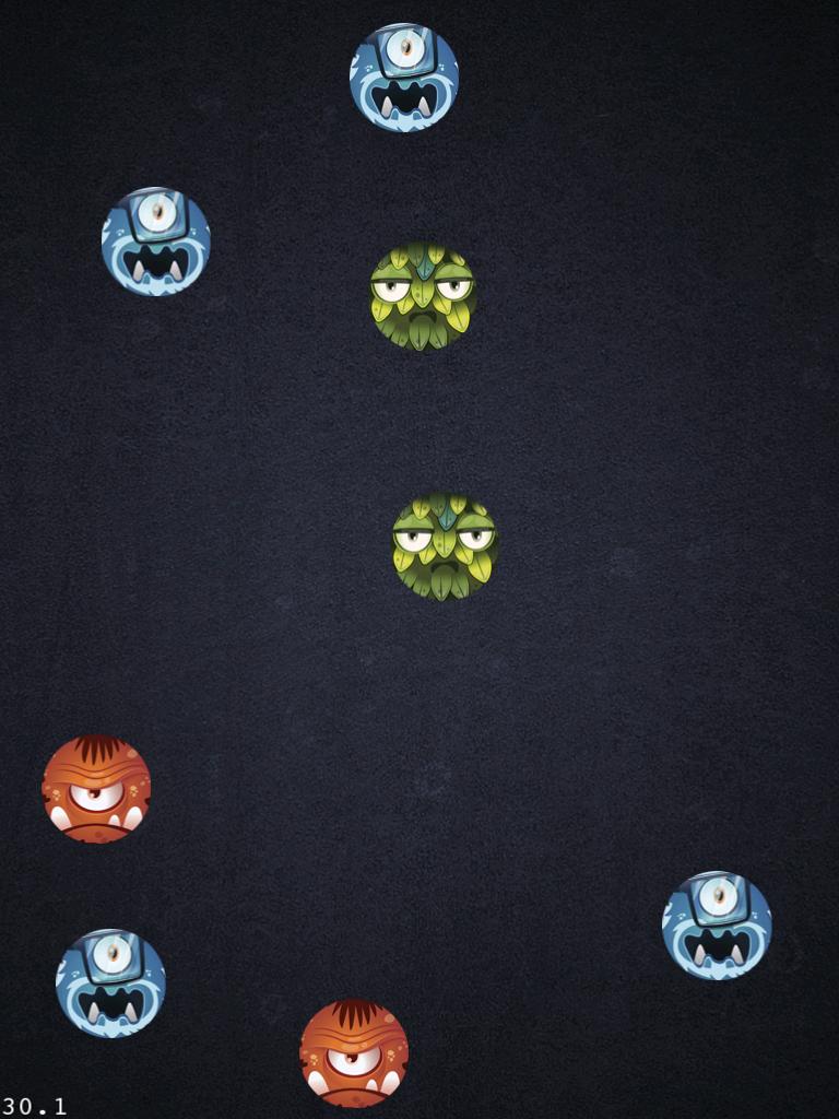 Figure 2: Monster on Screen