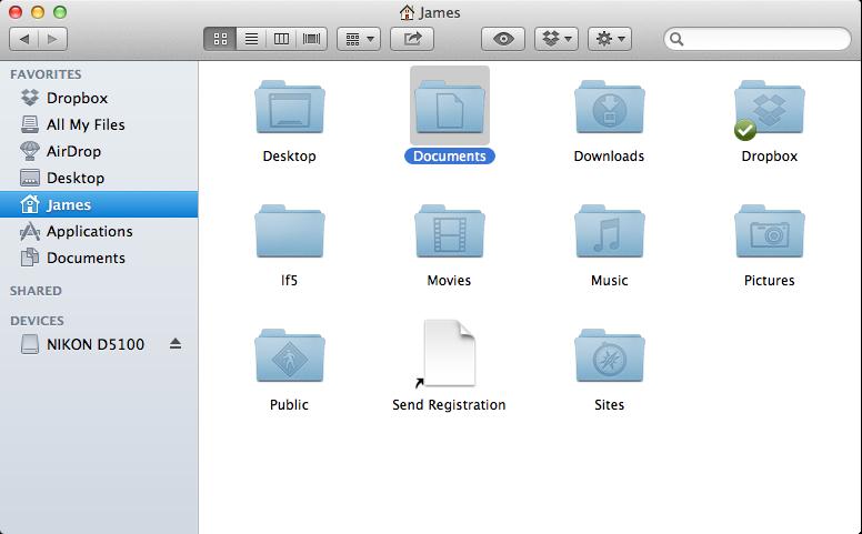 Finder OS X