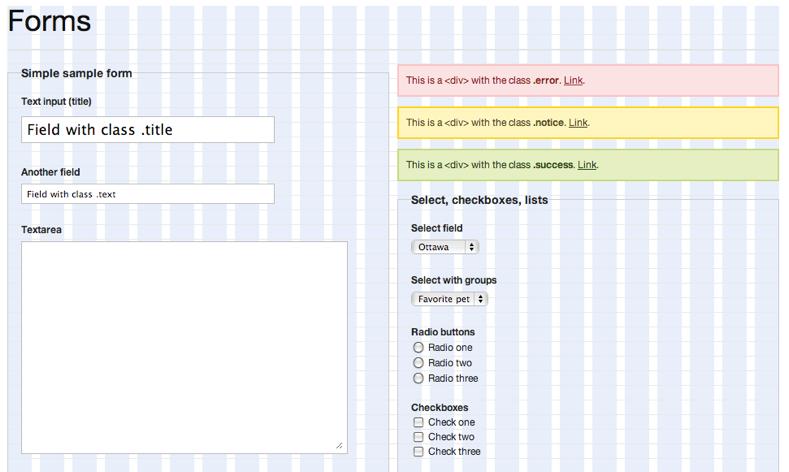 Blueprint Form Tests