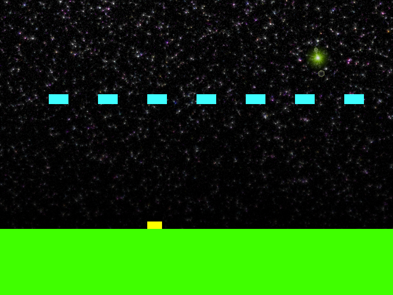 Invaders in-game screenshot