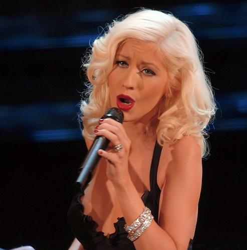 Christina Aguilera by  Raffaele Fiorillo