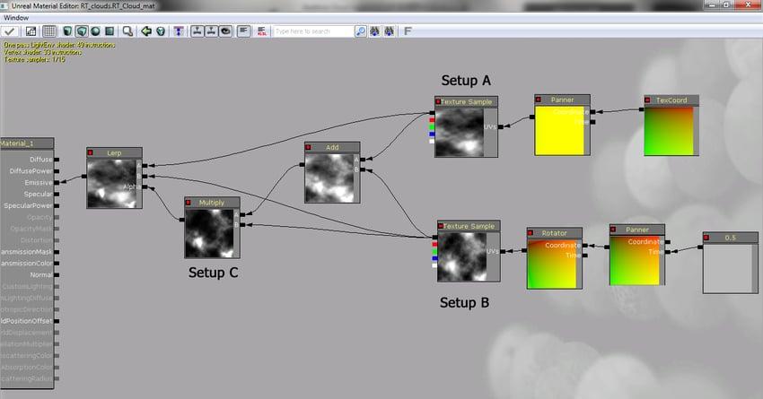 Tutorial Dynamic Cloud Shadows in UDK