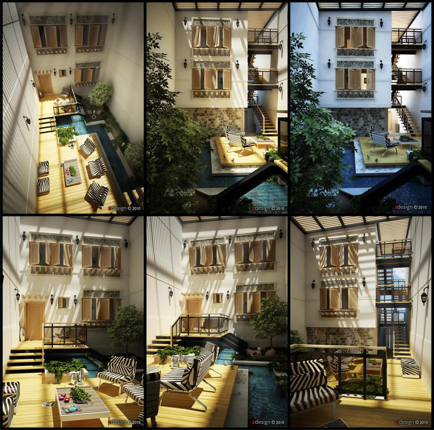 Cgtuts+ 3d work central courtyard critique