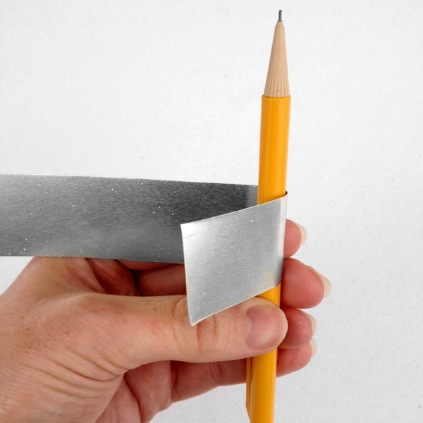 you can use a pencil to make smooth curves