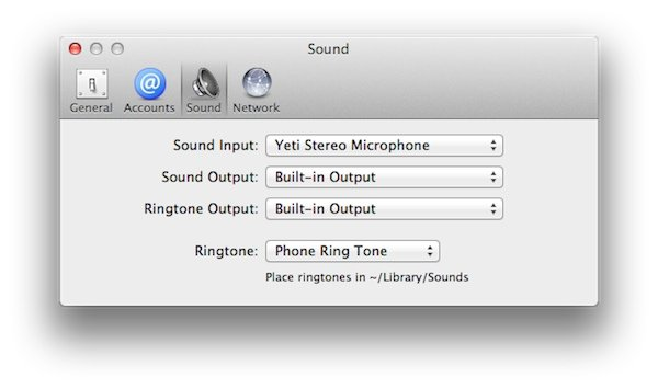 This App Allows You to Customise a Ringtone By Placing a File in the LibrarySounds Folder