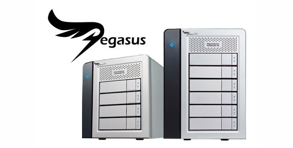 The Promise Pegasus RAID is a seriously powerful storage solution aimed towards high-end professional and server use