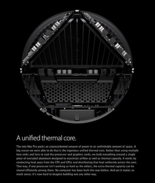 Mac Pro thermal core