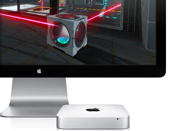 Mac mini and Portal 2