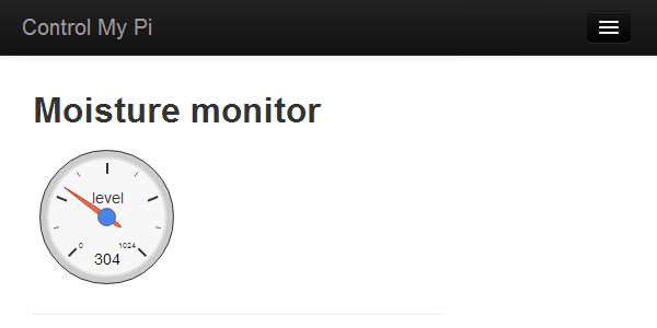 Moisture monitor