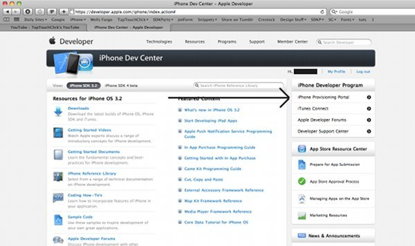 iPhone Provisioning Profile