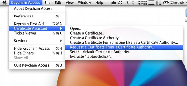Request Certificate Authority