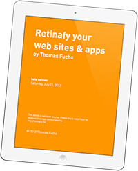 Retinafyme - Retinafy your Websites and Apps