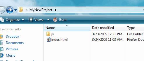 Folder Preview