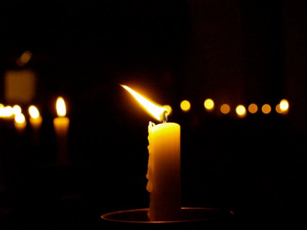 candlelight photography