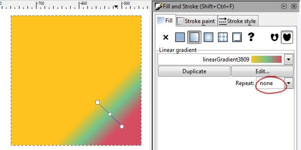 gradient repeat none