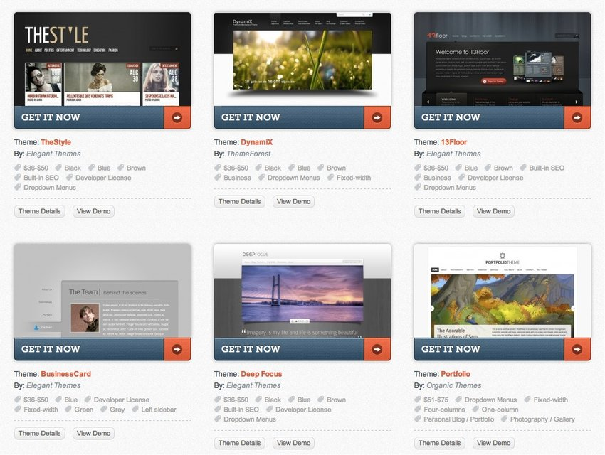 Sometimes fixing the design of your website can be as easy as switching Wordpress template.