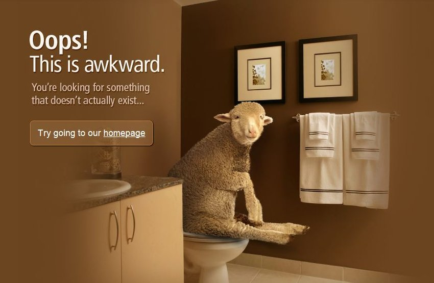 Apartmenthomeliving's 404 Page