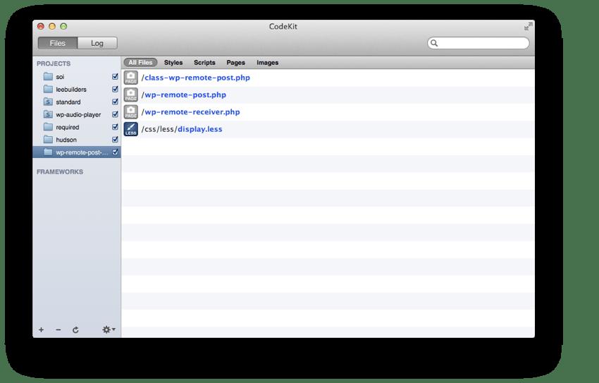 WP Remote Post Example on CodeKit