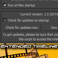Preview for Quick Tip: Extended Timeline Script for 3D Studio Max